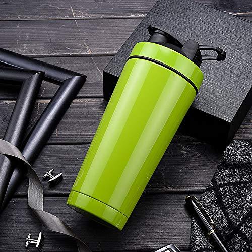HJKKLL RVS Protein Poeder Shaker Fles Fitness Mixer Cup|Protein Poeder Shaker 720Ml