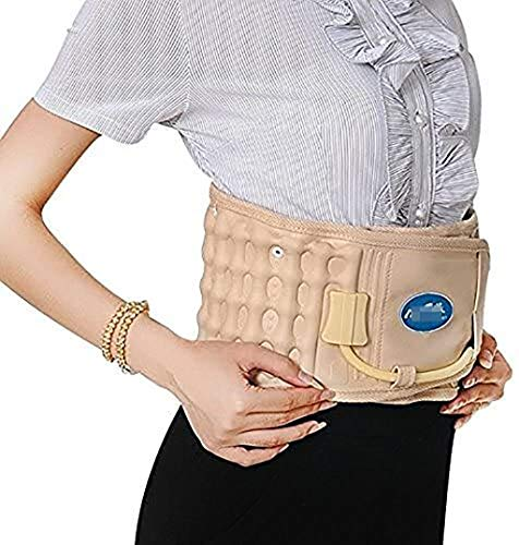 yxx Spinal Massager Physio Decompression Back Belt Air Traction Waist Brace Support Back Massage for Back Pain Relief Pain Lower