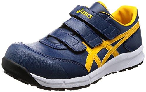 [アシックス] ワーキング 安全靴/作業靴 ウィンジョブ CP301 JSAA A種先芯 耐滑ソール αGEL搭載 インシグニアブルー/ゴールドフュージョン 22.5