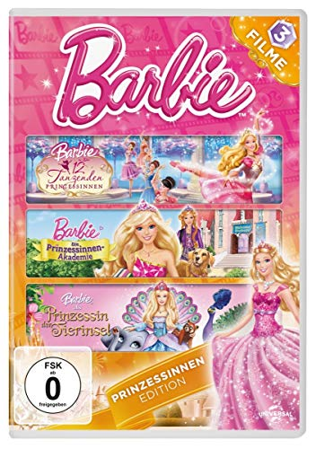 Barbie Prinzessinnen Edition [3 DVDs]