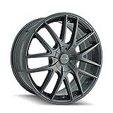 TOUREN TR60 (3260) GRAY Wheel with Gunmetal (18 x 8. inches /5 x 100 mm, 40 mm Offset)