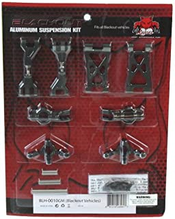 Redcat Racing BLH-0010GM Aluminum Hop Up Kit for Blackout Xt, XB, & SC