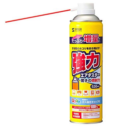 サンワサプライ エアダスター 増量タイプ CD-32ECON