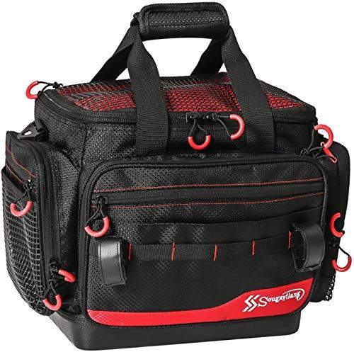 Sougayilang Angelgerätetaschen - 100% wasserfeste Angelausrüstungstaschen - Tragbare Schultertasche für Angelorganisatoren - Geeignet für 3600 3700 Tackle Box-hs