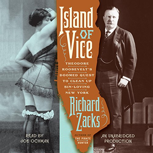 Island of Vice audiobook cover art