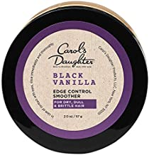 Carol's Daughter Black Vanilla Moisture & Shine Edge Control Smoother For Dry Hair and Dull Hair, with Aloe and Honey, Clear Edge Smoother, Edge Tamer, 2 oz (Packaging May Vary)
