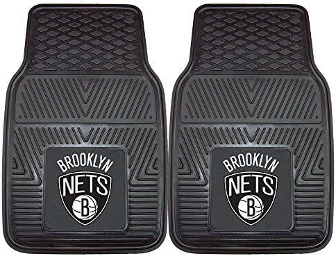 Fanmats 9342 NBA New Jersey Nets Vinyl Universal Heavy Duty Fan Floor Mat product image