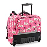 Desey Paris - Zaino trolley Wheels 2020, colore: Rosa