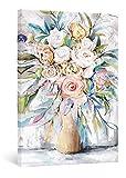 SUMGAR Cuadros en Lienzo Plantas Flores Colorido Modernos de Decoración Hogar Florales para Dormitorios Baño Cocina Sala de Estar - 40 x 60 cm