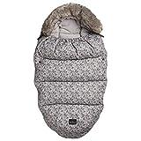 Elodie Details(エロディディティールズ) フットマフ ベビーカー 防寒 ブランケット カバー ケープ 対策 防寒カバー 5点式ベルト 北欧 Strollerbag Petite Botanic 1035002