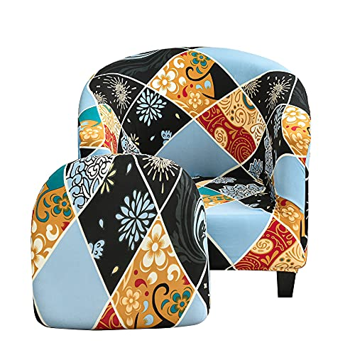 CHNSHOME Sesselbezug 2 Stück Sesselüberwurf überzug für Sessel Clubsessel Tullsta Stuhl Sesselhusse