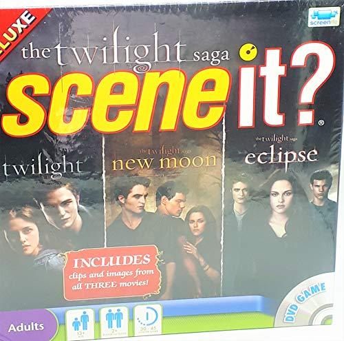Scene It Twilight Saga - Juego de mesa con DVD, saga Crepsculo [importado de Reino Unido]