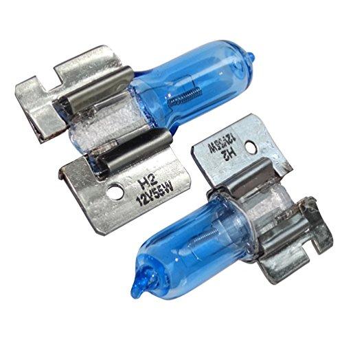 AERZETIX: 2x Bombillas H2 12V 55W X511 luz blanco efecto Xenon C17604
