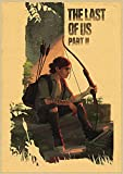 Cuadro en Lienzo 30x45cm Sin marco Póster impreso del juego The Last of Us para la decoración del arte de la pared del hogar