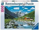 Ravensburger Puzzle 1000 Piezas, Monte Karwendel - Austria, Colección Fotos y Paisajes, Puzzle para Adultos, Rompecabezas Ravensburger de óptima calidad, Puzzles Paisajes Adultos