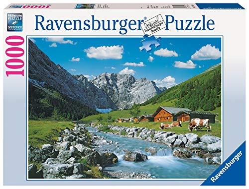 Ravensburger Puzzle, Puzzle 1000 Pezzi, Monti Karwendel Austria, Puzzle per Adulti, Puzzle Paesaggi, Puzzle Ravensburger - Stampa di Alta Qualità