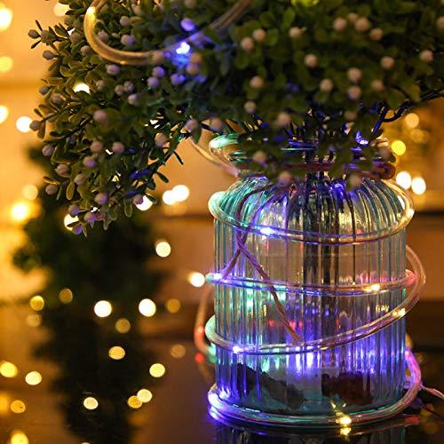Miwaimao Copper Pipes Led Solar Garden Lights Waterproof Outdoor Christmas Lights Garden Festival,Other,2 Function B