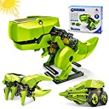 Hot Bee Solar Robot Kit 3-in-1 STEM Projects for Kids Ages 8-12, Science Building Dinosaur Set, Educational DIY Assembly Kits with Solar Powered Toys for 8 Year Old Boys Girls Gifts