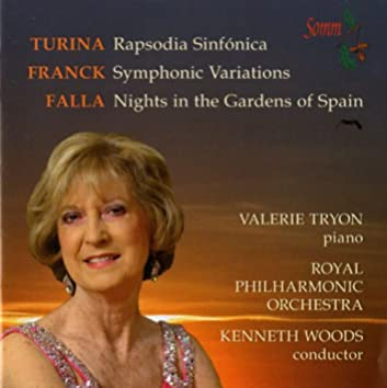 Turina: Rapsodia Sinfónica - Franck: Symphonic Variations - Falla: Nights in the Gardens of Spain