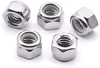Bright Finish Hex lock Nuts 304 18-8 Stainless Steel lock nut UNC 5//16-18 inch Serrated Flange Hex Lock Nuts (20 Pack