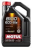 Aceite Lubricante Motul -8100 Eco Lite 0w20, 5 Litros