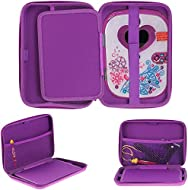 Broonel Navitech Purple Premium Travel Hard Carry Case Cover Sleeve Compatible With The VTech Pink S...