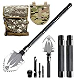 EXCERCUS Folding Camping Shovel for Digging,Military Entrenching Tool Camping kit,Tactical Trench Shovel Backpacking