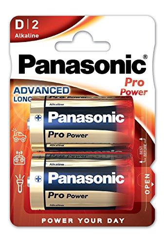 Panasonic Pro Pack de 2 Batteries Alcaline