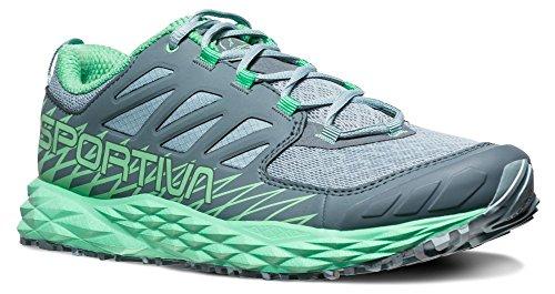 La Sportiva Lycan Women's Running Shoe, Stone Blue/Jade Green, 41.5