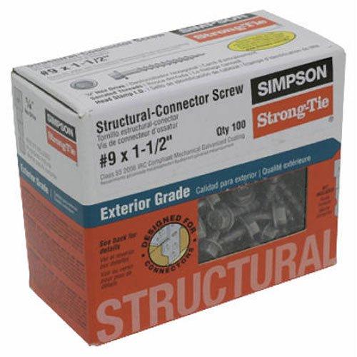 Simpson Structural Screws SD9112R100