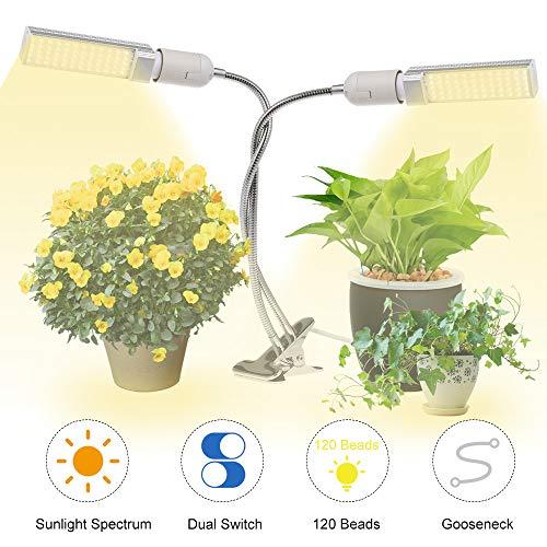 Lixada plantenlamp LED 25W plantenlicht plantenlamp groeilamp groeilamp groeilamp volledig spectrum voor kamerplanten