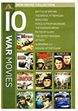 War Movies 10-Pack: (The Battle of Britain / Bridge at Remagen / Beach Red / Force 10 from Navarone / The Mckenzie Break / and more)