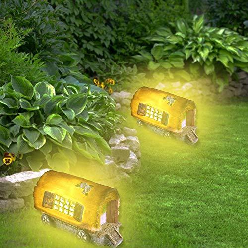 Fancylande tuinverlichting op zonne-energie voor buiten, led, decoratie voor tuin, tafel, erf en gazon