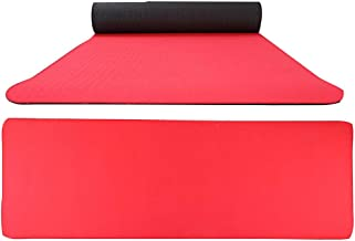 $31 » Kidirt Yoga Mat - Double-Sided Two-Color Environmental Protection Thick High Density Deluxe Non Slip Exercise Pilates Mat for Yoga, Pilates, Exercise, Workout, Hot Yoga