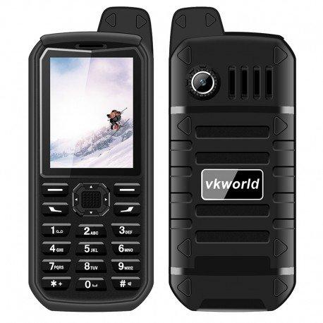 Preordine VK mondo pietra V3 più robusto telefono anziano - IP54, Bluetooth, 4000mAh, Dual-IMEI, Radio FM, 0.3 MP fotocamera (n