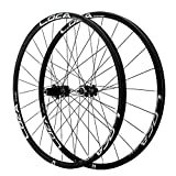 LvTu 26 27,5 29 Pulgadas Aleación Juego de Ruedas PA24 24H Freno de Disco Rueda de Bicicleta para 8-12s Casete Rim (Size : 27.5 Inches)