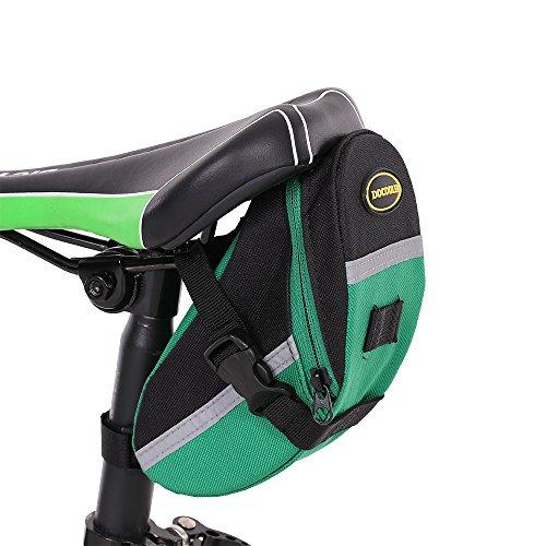 Docooler Bolsa de Sillín de la Bicicleta Paquete de Cola de la Bicicleta Bolsa de la Bicicleta