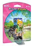 PLAYMOBIL- Cuidador de Zoológico con Baby Gorilla Playset de Figuras de Juguete, Multicolor, 12 x 3,5 x 16 cm (9074)