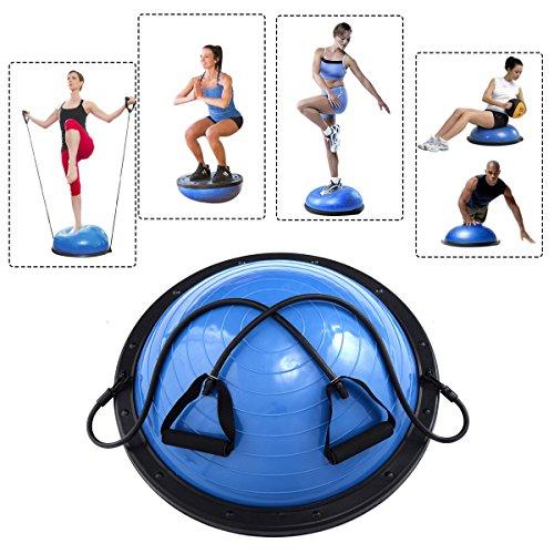 "SHZOND Yoga Balance Ball 23"" Yoga Fitness Strength Exercise Workout Sport Balance Trainer"