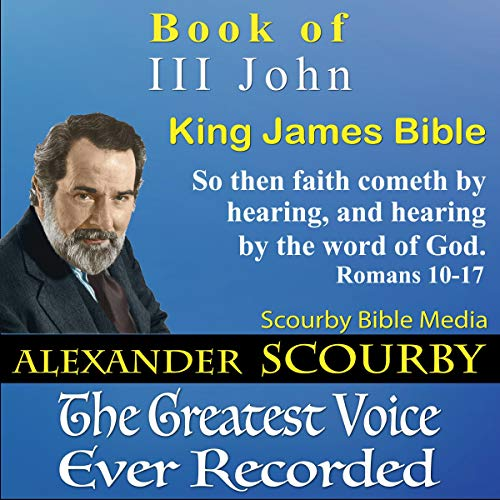 Book of III John, King James Bible audiobook cover art