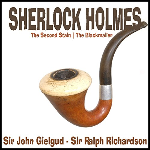 Couverture de Sherlock Holmes: The Second Stain & The Blackmailer