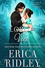 Lord of Vice: Regency Romance Novel (Rogues to Riches Book 6)