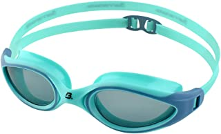 Barracuda Swim Goggle AQUATEC - Curved Lenses, Anti-Fog UV Protection, One-Piece Frame Soft Gaskets, Easy Adjusting Comfortable Leak Proof Fashion for Adults Men Women #35125
