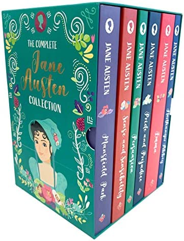 The Complete Jane Austen Collection 6 Book Box Set Sense and Sensibility Pride and Prejudice product image