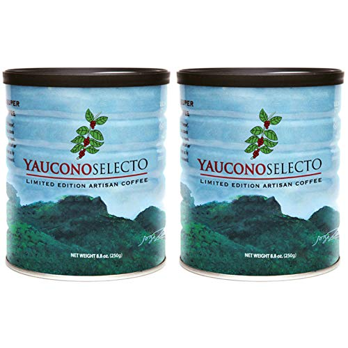 Yaucono Selecto Limited Edition Gourmet Coffee 8.8 Ounces - 2 Cans