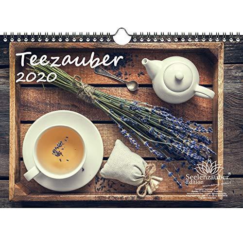 Theezauber DIN A4 kalender 2020 thee - zeelmagie