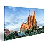 islandburner Bild Bilder auf Leinwand Barcelona, Spanien -