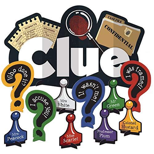 3D Clue Table Decorating Kit- 11 pcs.