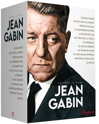 Coffret Jean Gabin 12 DVD