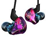 KZ-ZST écouteurs Casque Casque Earbud dans l'oreille Annulation de Bruit HiFi Lourd stéréo avec Micro pour téléphone Tablette PC MP3 MP4